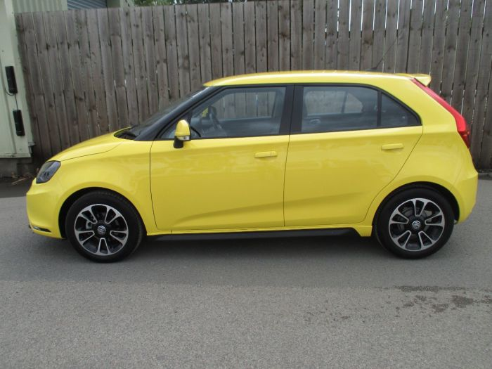 MG Motor UK MG3 1.5 VTi-TECH 3Style Lux 5dr [Start Stop] Hatchback Petrol Hello Yellow