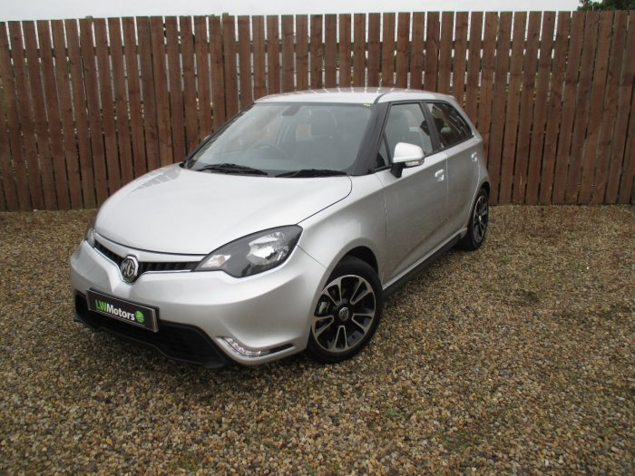 MG Motor UK MG3 1.5 VTi-TECH 3Style+ 5dr [Start Stop] Hatchback Petrol Silver