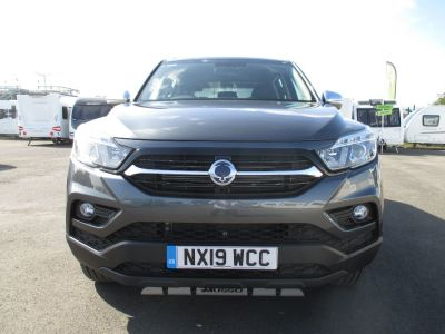 SsangYong Musso 2.2 Double Cab Pick Up Saracen 4dr Auto AWD Pick Up Diesel GreySsangYong Musso 2.2 Double Cab Pick Up Saracen 4dr Auto AWD Pick Up Diesel Grey at Leisure World Motors Richmond